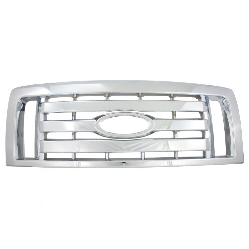 Bully GI-73 Triple Chrome Plated ABS Snap-in Imposter Grille Overlay