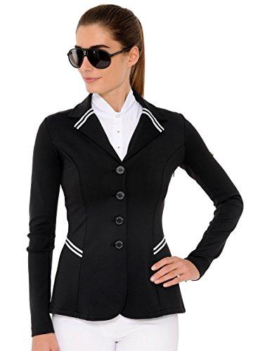 SPOOKS Turnierjacket Showjacket New Stripes black Größe S