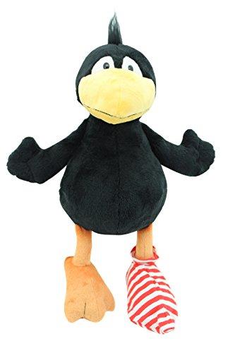 Sweety-Toys 6168 Der Kleine Rabe Socke Plüschfigur ca. 43 cm