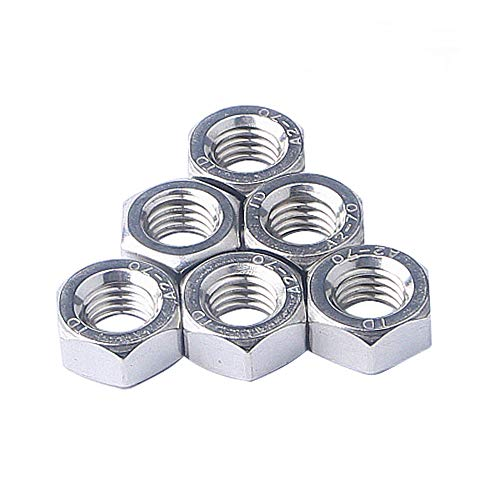Right Hand Thread Smartsails M8 x 50mm,304 Stainless Steel Full Threaded Rod 10Pieces