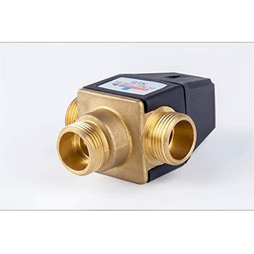 ZhengELE Válvula Válvula de Mezcla termostática de Hilo de latón de 3 vías DN20 válvula de Calentador de Agua Solar DN20 Válvula mezcladora termostática de 3 vías (Specification : DN20)