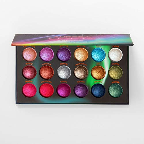 BH Cosmetics Baked Eyeshadow Palette, Aurora Lights
