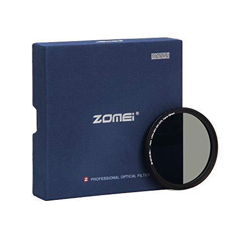 ZOMEi 58mm Premium CPL Pol Filter für eine hohe Bildqualität – Polfilter 58mm für eine klare Entspiegelung Ihrer Aufnahmen - Zirkularer Polarisationsfilter