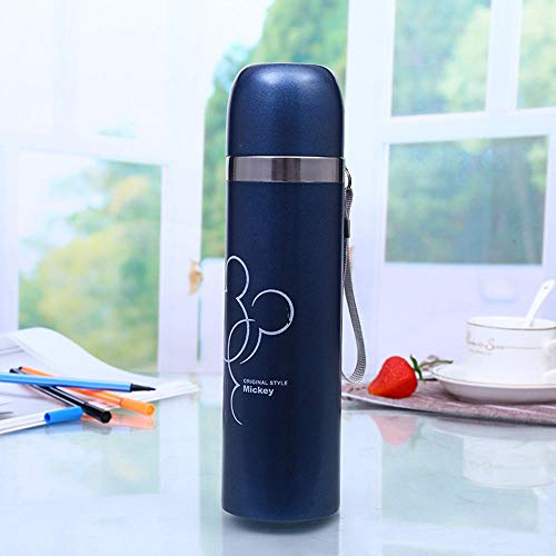 Generic Brands 500ML Thermos Mug Coffee Cup With Small Cup Stainless Steel...