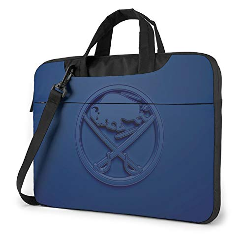 Laptop Sleeve Case Lightweight Laptop Shoulder Bag Buffalo-Sabre&s Tablet Briefcase Protective Carrying Case Compatible with Lenovo Acer Asus Dell Lenovo Hp Samsung Ultrabook Chromebook