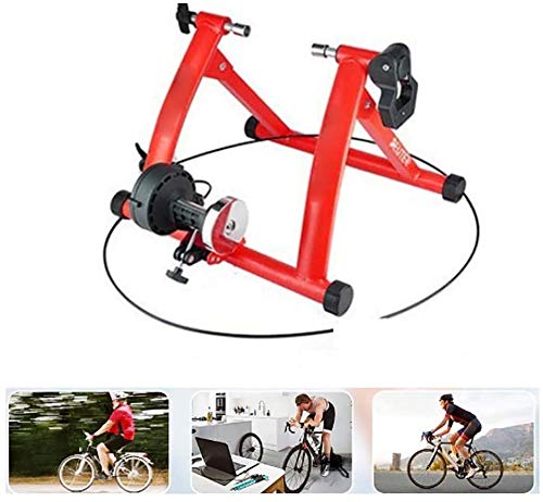 CHENGL Fluid Bike Trainer Steht Indoor Turbo Trainer, Bike Trainer Stand Fahrradübung magnetischen Standplatzes mit Noise Reduction-Rad für die Indoor-Training 7 Zyklus Beständigkeiten