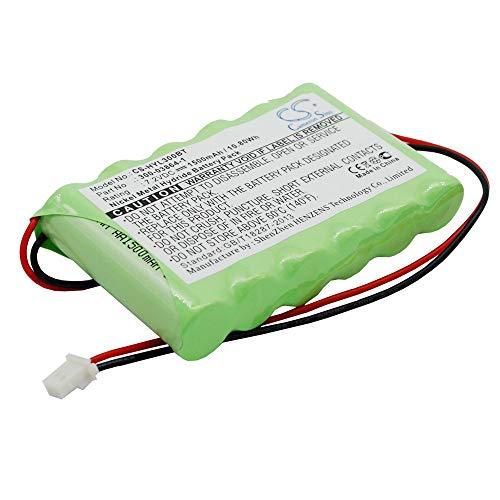 Batería Recargable del Sistema de Alarma Batería del Sistema de Alarma Ni-MH 1500mAh / 10.80Wh Compatible para ADT Se Adapta al Modelo Lynx Panel DE Seguridad DE Alarma/WALYNX-RCHB-SC Batería del si