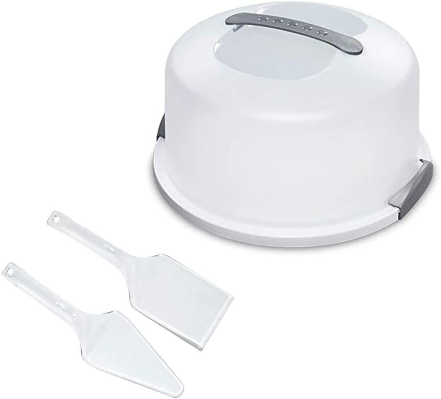 3 in Direct sale of manufacturer 1 Portland Mall Cake and Cupcake Server 2 With Storage Set Container Clea
