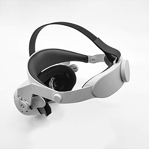Adjustable Halo Strap for Oculus Quest 2 VR,Increase Supporting Force Virtual Reality Accessories