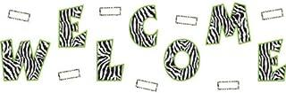 Teacher Created Resources Zebra Welcome Bulletin Board