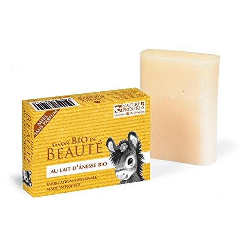 Cosmo Naturel Savon au lait d'ânesse sans Parfum au Miel 100g