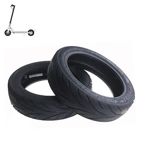 HUAQINEI Neumáticos de Scooter eléctrico, 60/70-6.5 Neumáticos de vacío a Prueba de explosiones, engrosados, Resistentes al Deslizamiento y al Desgaste, adecuados para MAX Scooter, 2 Piezas