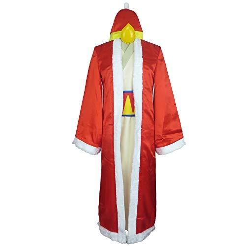 Dream Land King Dedede King DeDeDe Uniform Outfit Cosplay Costume (Male XL) Red,Beige