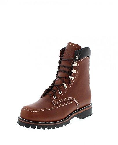 Chippewa Mens 1969 Original Kush N Kollar Chocolate Leather Boots 41 EU