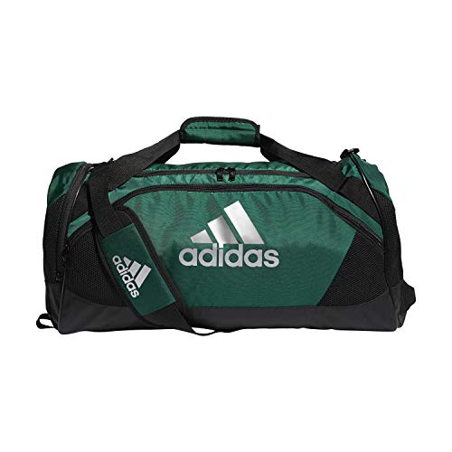 adidas Team Issue II - Bolsa de Viaje (tamaño Mediano), Color Verde Oscuro