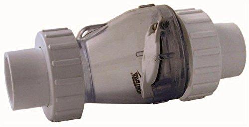 Valterra Valve anti-retour 50 mm avec ressort, transparent