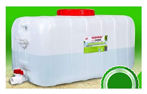 FMLFS 50L Depósito De Agua Tanque De Agua del Coche Engrosado Bidón Plástico con Grifo Envase Agua Que Acampa Bidón De Agua Plastico Portador De Almacenamiento De Agua para El Aire Libre Cámping