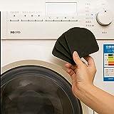 Stoßdämpfende Unterlegscheiben-Pads Anti-Vibrationsmatten für Waschmaschine 4 Stück