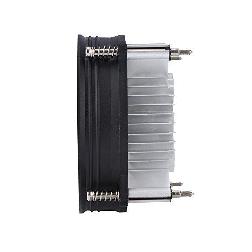 Disipador de Calor, Ventilador de la CPU del refrigerador de la CPU del Aluminio de la dispersión de Calor del refrigerador de la computadora silencioso para la CPU