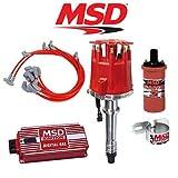 SKSpeed MSD Complete Ignition Kit - Digital 6AL/Distributor/Wires/Coil/Bracket SBC