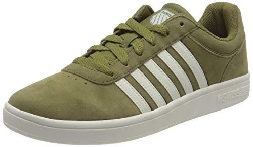 K-Swiss Herren Court CHESWICK SPSDE Sneaker, OLIVEDRB/BLK/SNWT, 40 EU