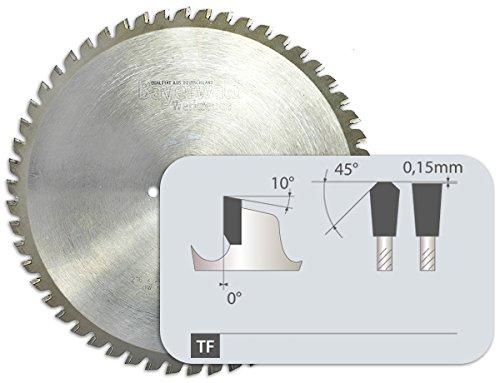 Bayerwald - HM cirkelzaagblad - Ø 355 mm x 2,4 mm x 25,4 mm | trapeziumvlaktand (84 tanden) | Dry Cutter roestvrij staal
