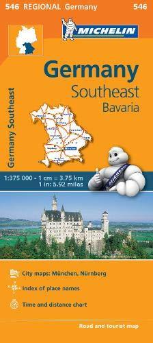 Mapa Regional Germany Southeast, Bavaria (Carte regionali)