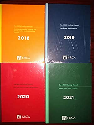 NRCA Roofing Manual - 2021 Boxed Set Hardcover – January 1, 2021