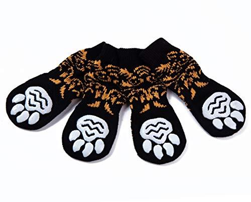 Pet Heroic 6 tamaños Calcetines Antideslizantes para Perros
