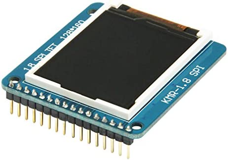 HiLetgo 1 8 inch ST7735R SPI 128160 TFT LCD Display Module with PCB product image
