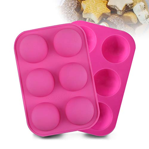 6 Holes Silicone Mold for Hot Chocolate Bombs