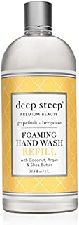 Deep Steep Foaming Hand Wash Refill, LITER (Grapefruit Bergamont)