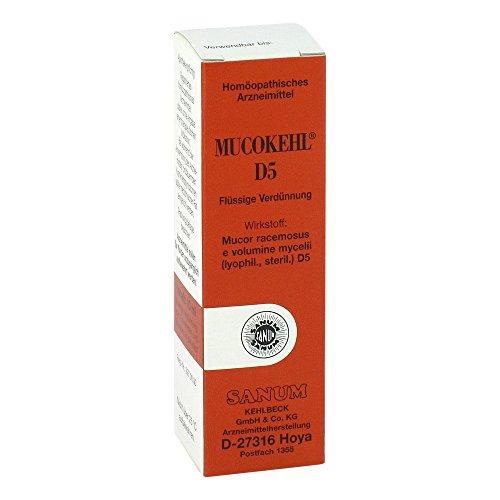 MUCOKEHL Tropfen D 5 10 ml