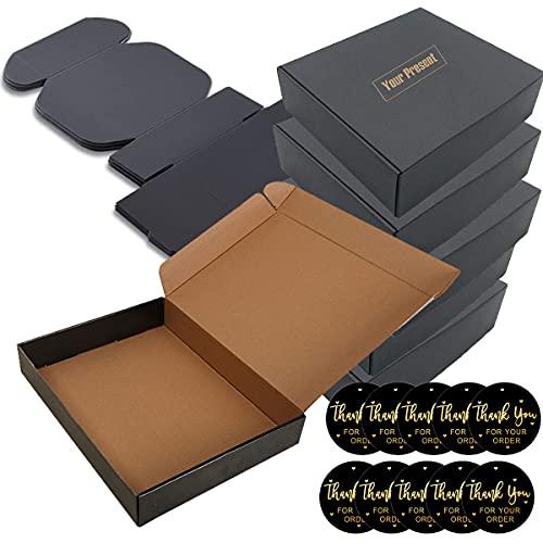 Caja Carton Craft Negras (Pack de 10) - Medidas 15 x 15 x 5 cm -Cajas...