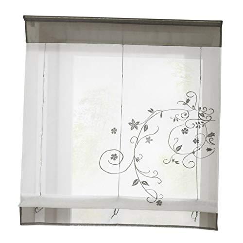 Nvfshreu Landhaus Raffrollo Fenstervorhang Raffgardine Vorhang Gardine Kurz Für Fenster # Einfacher...