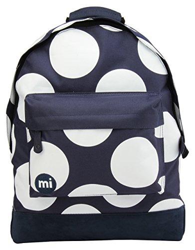 Mi-Pac-Zaino, motivo a pois, taglia XL, colore: navy/bianco, taglia unica
