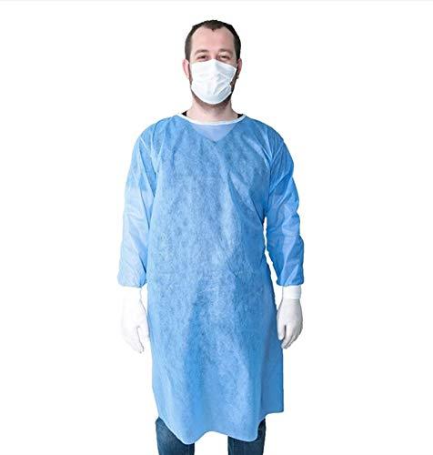 Isolationsschutz, Einwegstoff, staubdicht, Universalgröße, 15 g, Vliesstoff (Farbe: zufällige Farbe, Größe: 20 Stück)