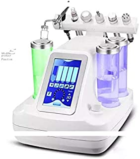 5/6/7 In 1 Vacuum face cleaning Microdermabrasion Hydro Dermabrasion Water Oxygen Jet Peel Machine for Vacuum Pore Cleaner Facial Care Beauty Machine (6 in 1)