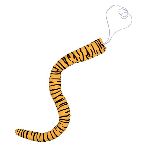 """Bluecell 19"""" Length Short Plush Animal Tiger Tail for Easter Halloween Costume Cosplay Party"""