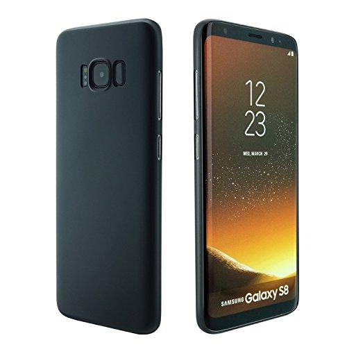 Custodia di Samsung Galaxy S8 Plus , 0,3 mm UltraSlim Case per Samsung S8Plus sottilissimo la più sottile duro custodia protettiva del mondo Mat semi transparente Copertura Cover per S8 Plus(2017)Nero