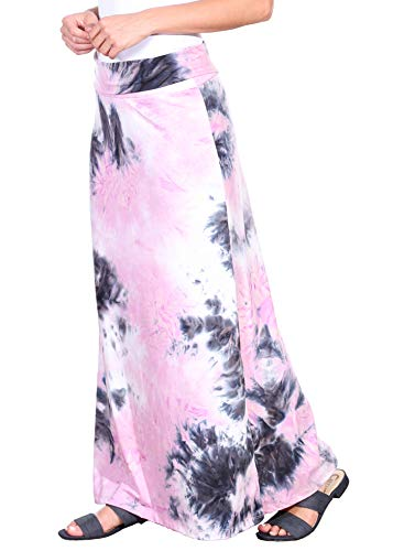 Popana Womens Long Maxi Skirt Casual Convertible Sundress Plus Size Made in USA Tie Dye DT36 XL