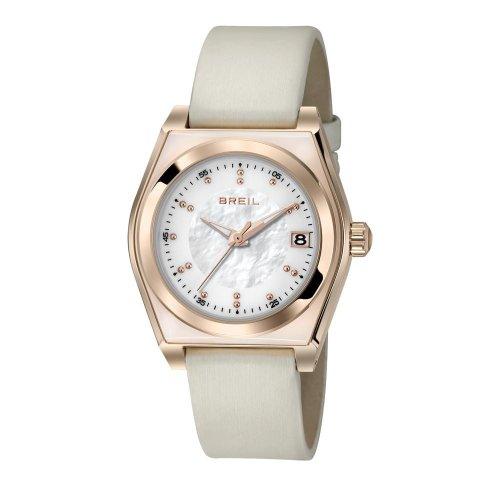 Breil Reloj de Cuarzo Escape Crema 35 mm