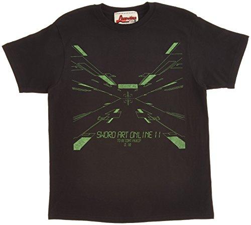 LIVERTINEAGE×SAO2 スペースTシャツ BLK サイズ:S