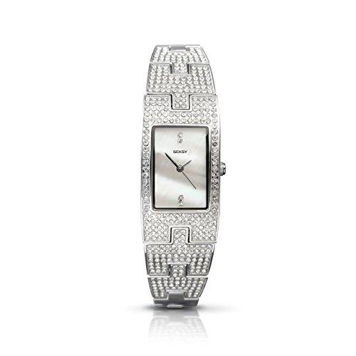 Sekonda Seksy orologio da donna in acciaio INOX e cristallo set 4118da £89: 99
