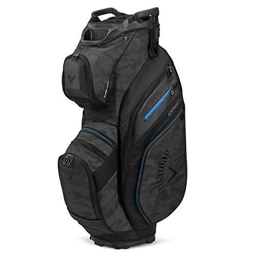 Callaway Golf 2020 ORG 14 Golftasche, Herren, ORG 14, Schwarz/Camo/Blau, Einheitsgröße