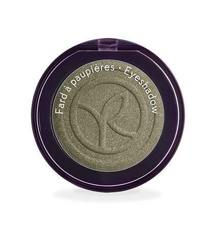 Yves Rocher COULEURS NATURE Lidschatten COULEUR VÉGÉTALE Bronze scintillant, einzelner Eyeshadow in Oliv-Grün, 1 x Dose 2,5 g