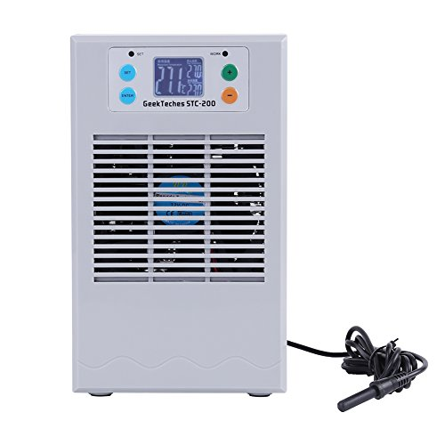 Fish Tank Water Heater Chiller, 100-240V Water Cooling Heating Machine Thermostat for...
