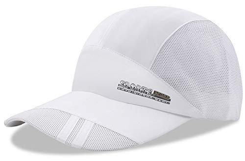 Baseball Cap Quick Dry Mesh Back Cooling Sun Hats Sports Caps for Golf Cycling Running Fishing