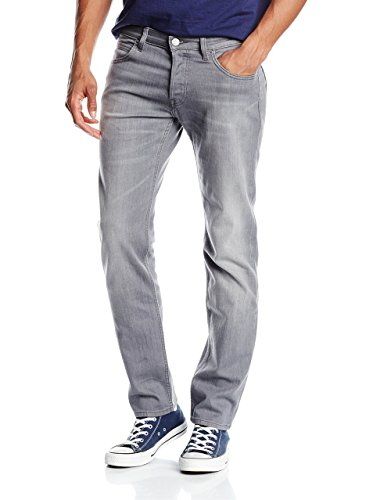 Lee POWELL GREY USED, Jeans da Uomo, Grigio (Used), W28/L34