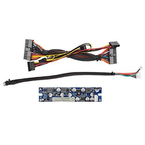 Andifany ATX PSU 19V 200W Pico ATX Switch MineríA PSU 24Pin Itx una ATX Pc Fuente de AlimentacióN para SSD PC